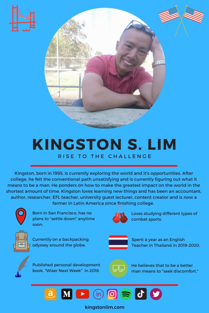 Kingston S. Lim About Me