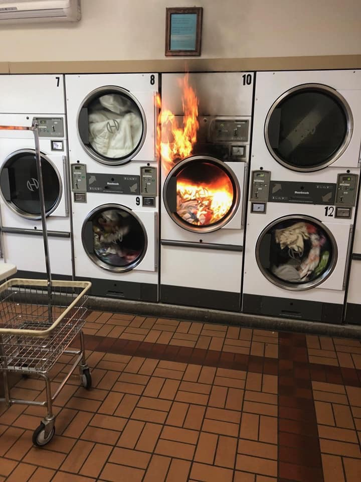 laundry fire, personal development,