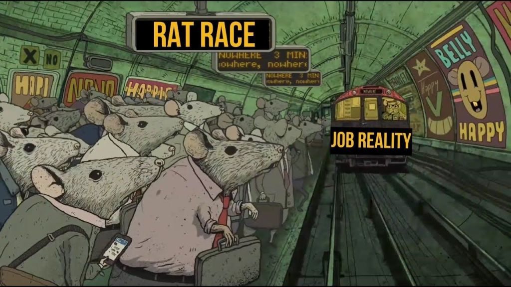 Caught in  a Rat Race